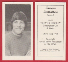 Birmingham City Trevor Hockey Wales